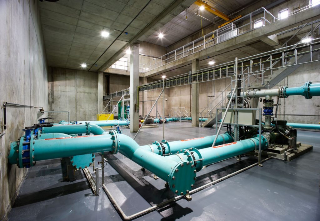 Dublin Airport Water Reservoir Pumping Station Amp Pipelines